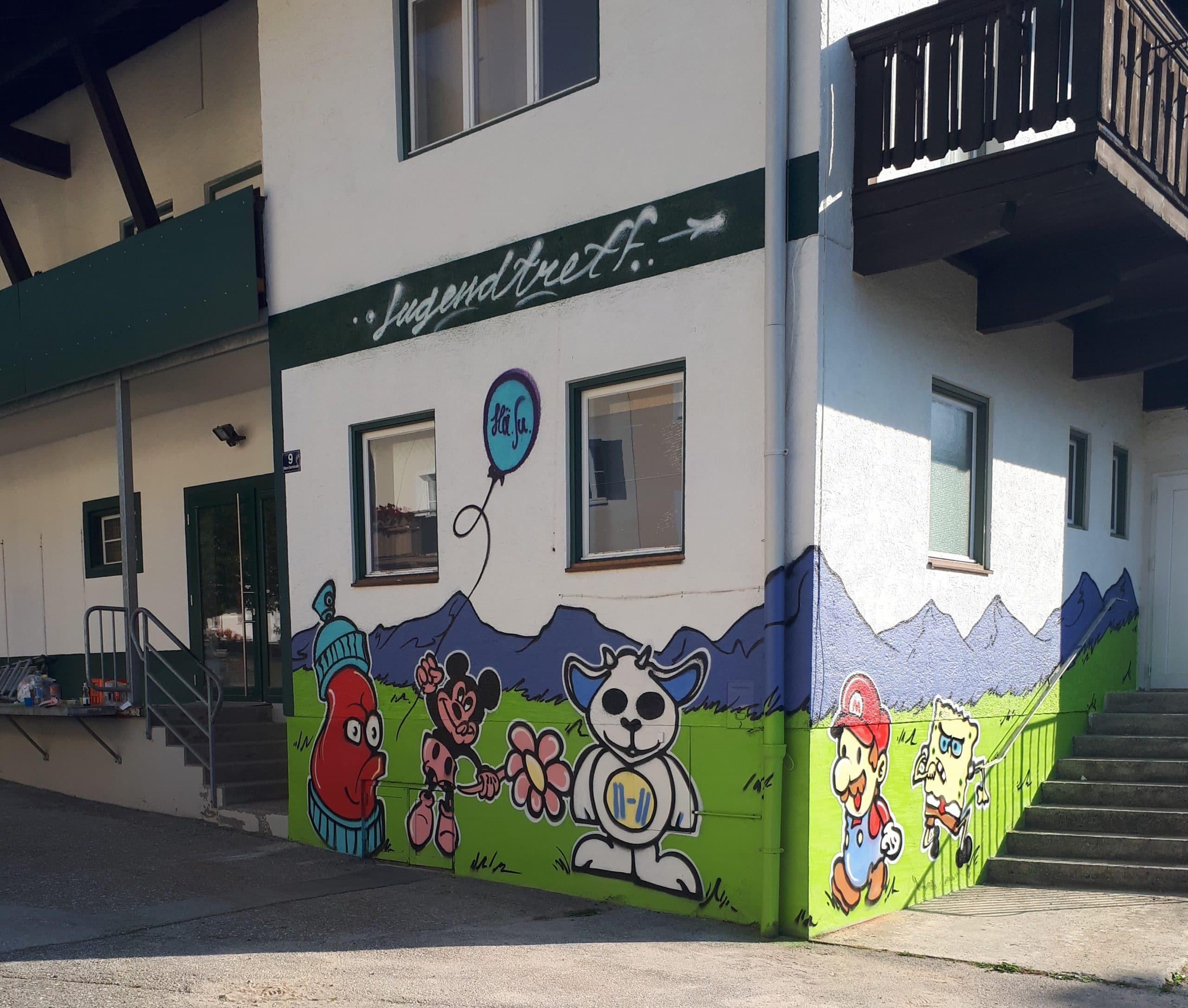 Graffiti-Workshop 2020
