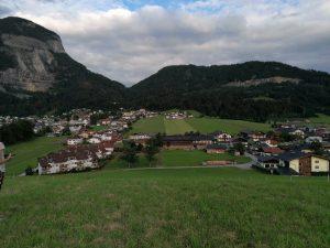 Blick auf Bad Häring - Landschaftsaufnahme