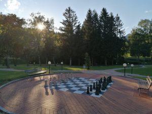 Schachplatz in Bad Häring